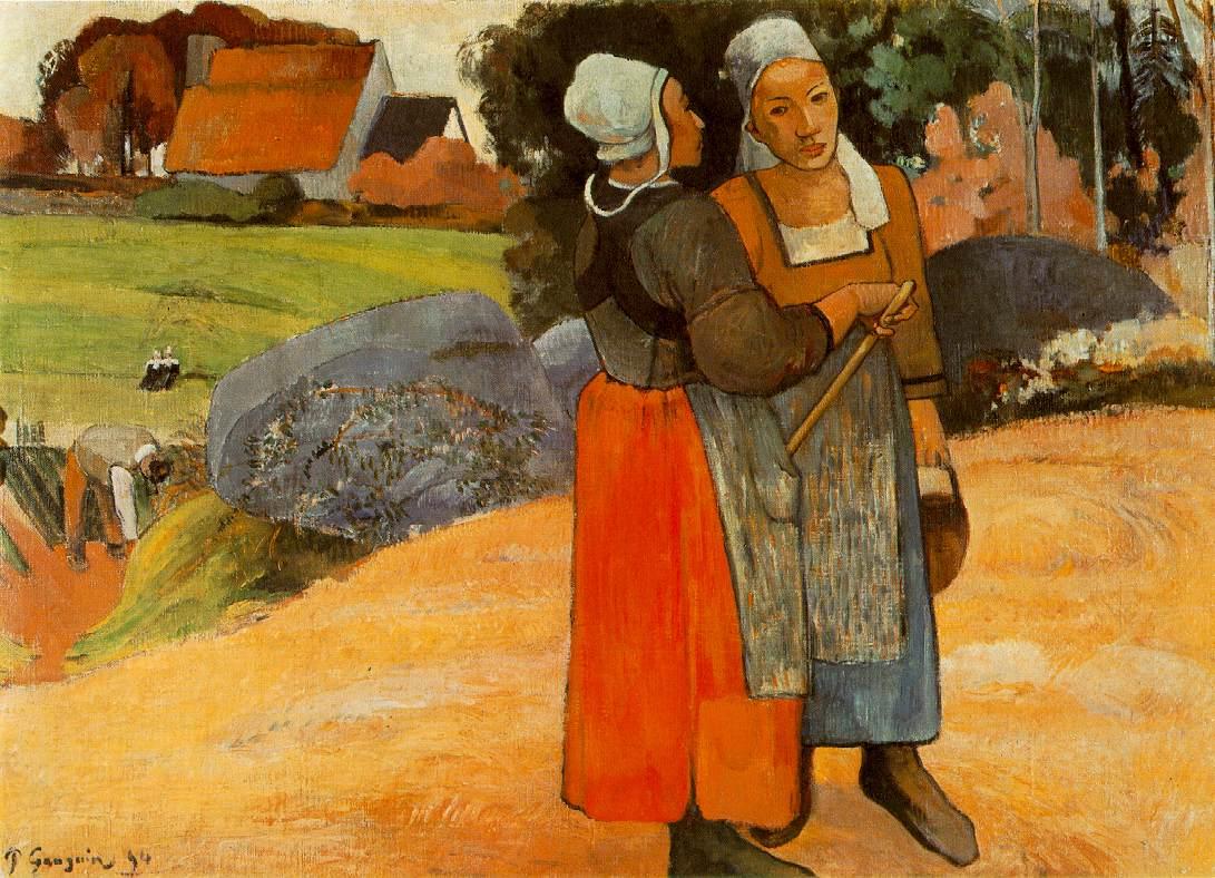 gauguin.paysannes-bretonnes